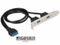 DELOCK Cable USB 3.0 2x 84836
