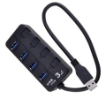 POWERTECH USB 3.0V Hub, 4 Port PT-268